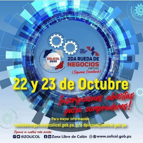 The Colón Free Zone would like to invite you to participate, free of cost, in its 2nd Virtual Business Roundtable