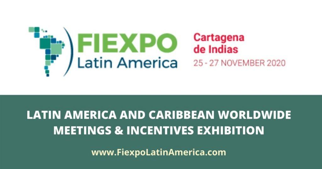 Fiexpo Latin America 2020 en Cartagena, Colombia