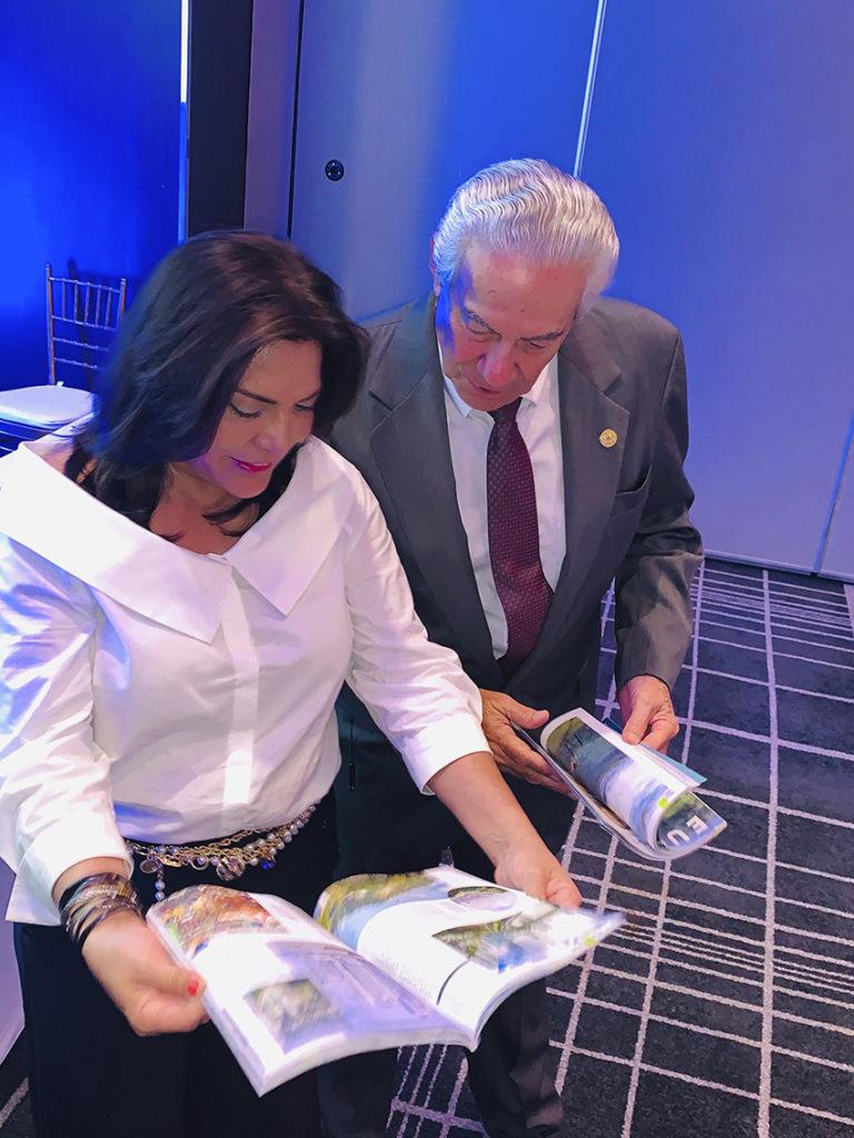 Directora de PROMTUR PANAMA y Presidente de CAMTUR