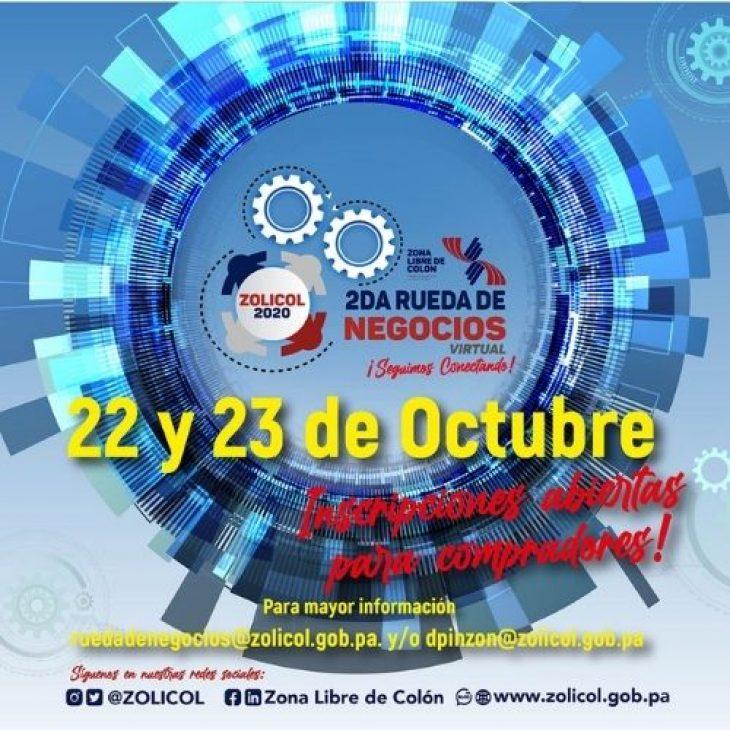 2da. Rueda de negocios Virtual de la Zona Libre de Colón