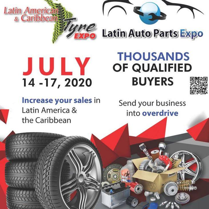Panama sede del Latin Tyre Expo & Latin Auto Parts Expo 2020