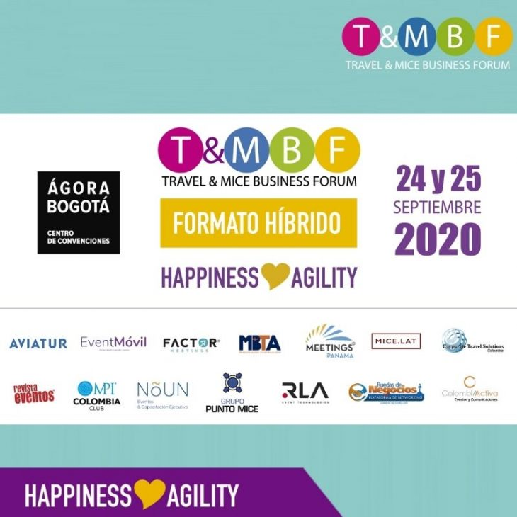 TRAVEL MICE BUSINESS FORUM 2020 -Happiness and Agility