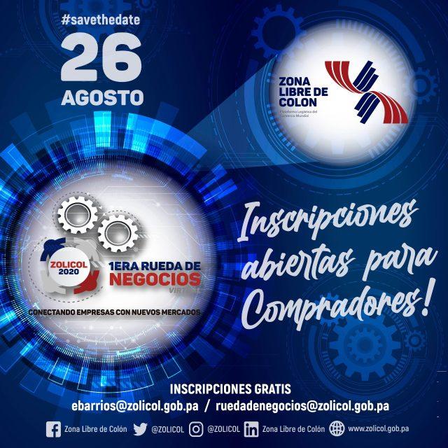 Rueda de Negocios Virtual Zona Libre de Colón