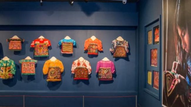 Exhibit highlights the cultural heritage of the Guna